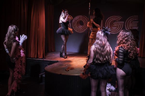 Workshop Burlesque in Den Haag